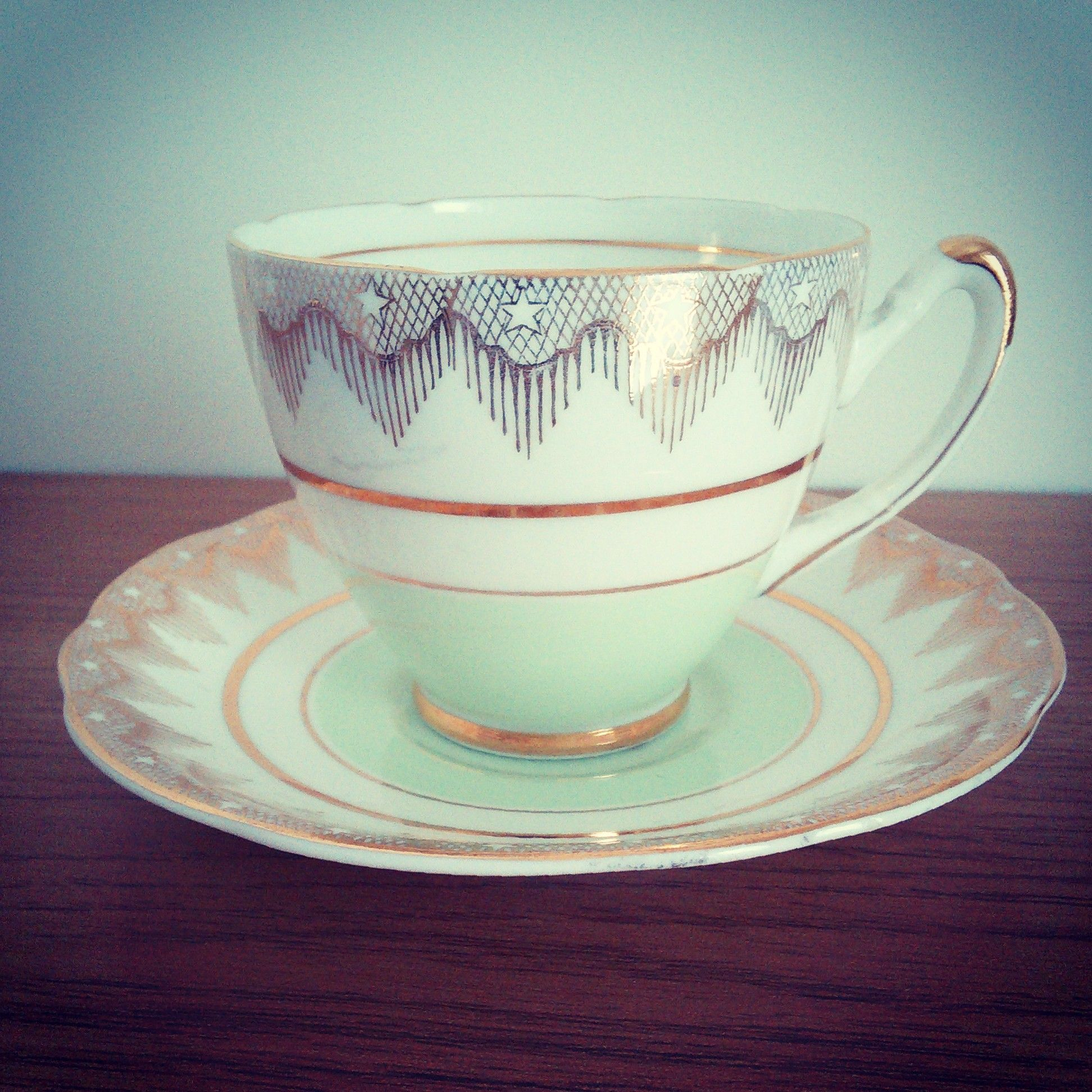 Vintage Imperial China Cup & Saucer