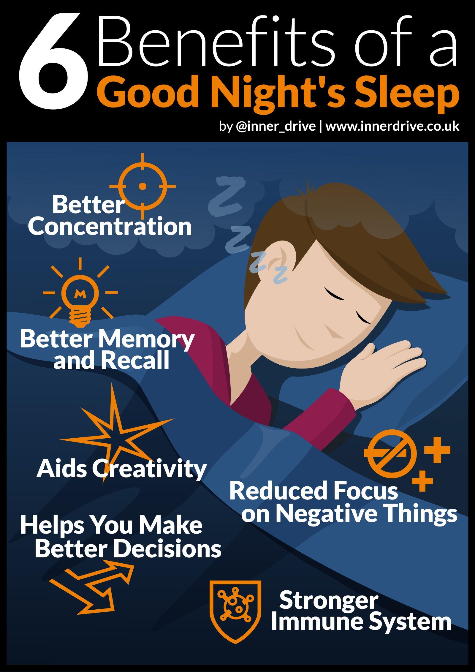 Benefits Of A Good Night S Sleep