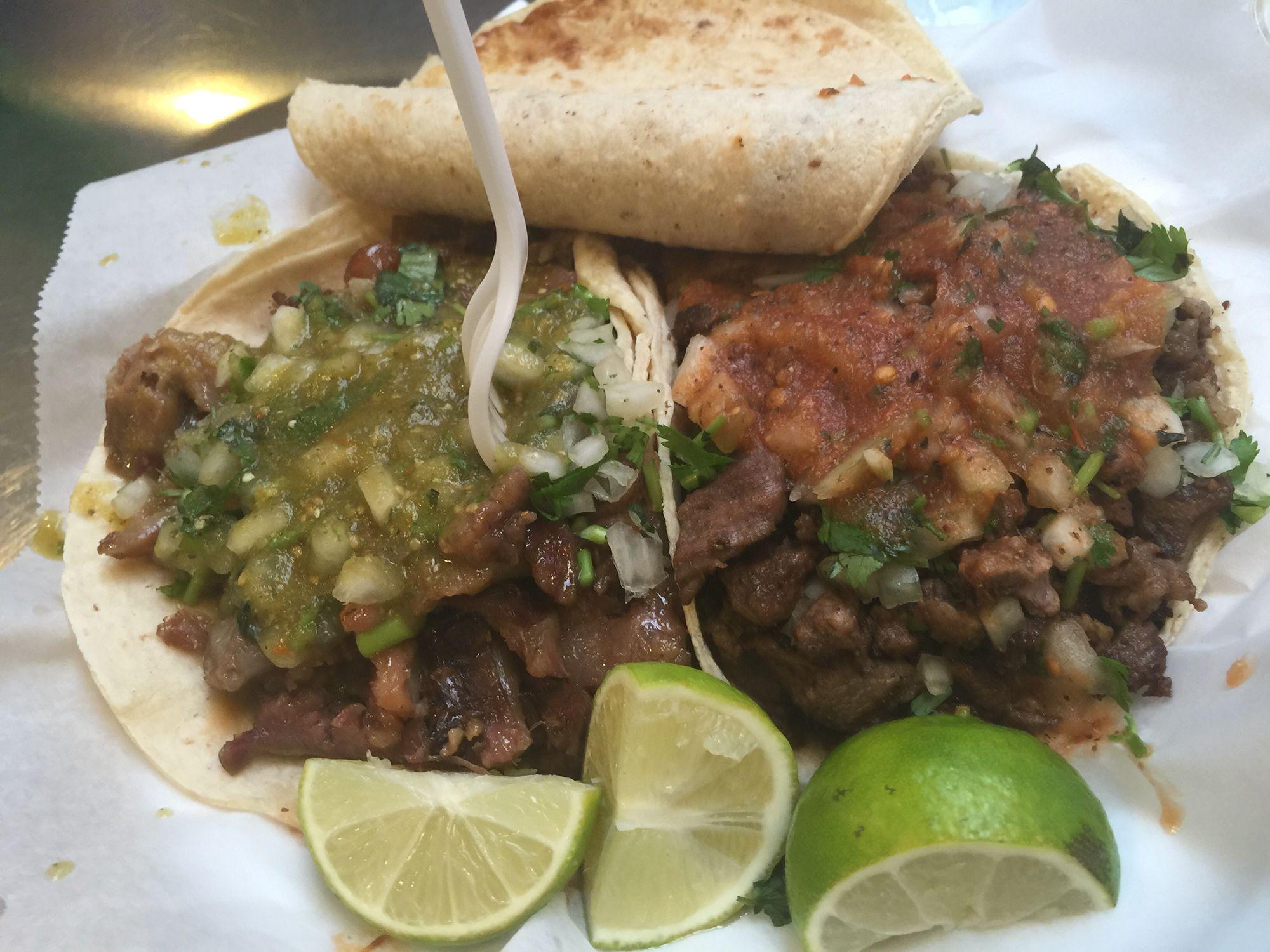 Massive Tacos Toma S Grand Central Market La Ethnic Recipes