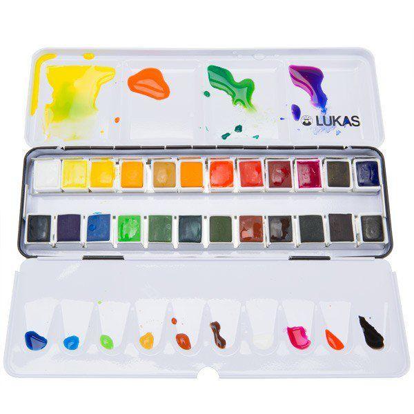 Schmincke Akademie Aquarell Watercolour Set 12 Half Pans In 2020