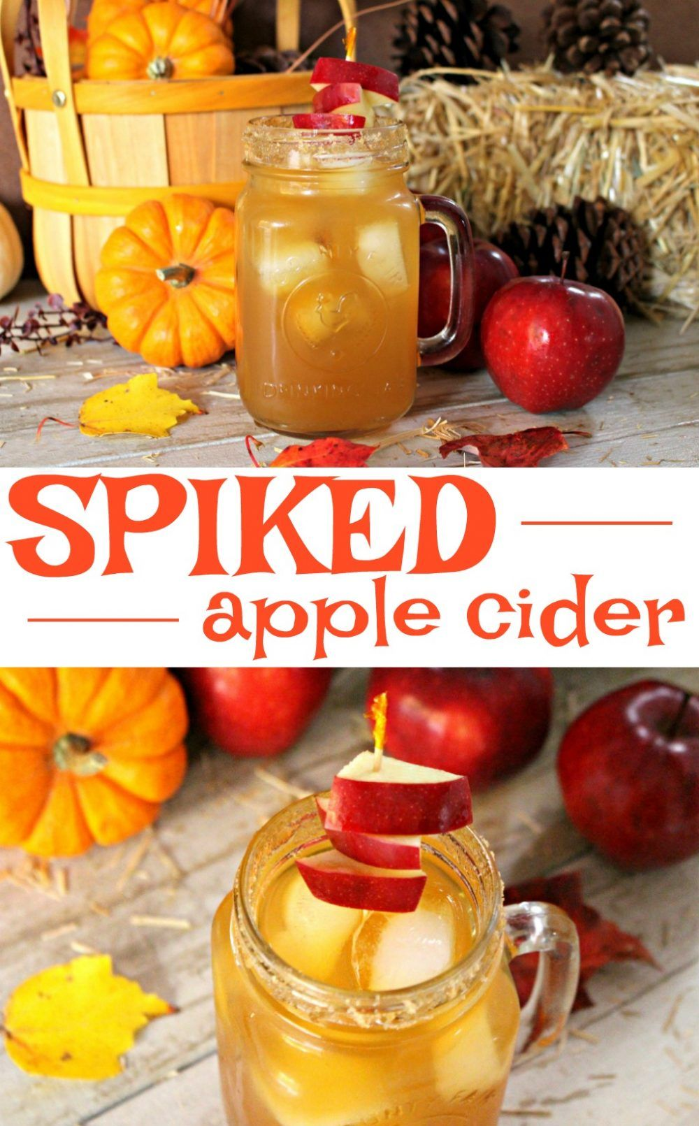 Fizzy Spiked Apple Cider