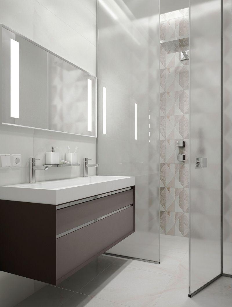 Raumgestaltung Ideen In Grau 5 Moderne Appartements Moderne Kleine Bader Badezimmer Design Badezimmer Einrichtung