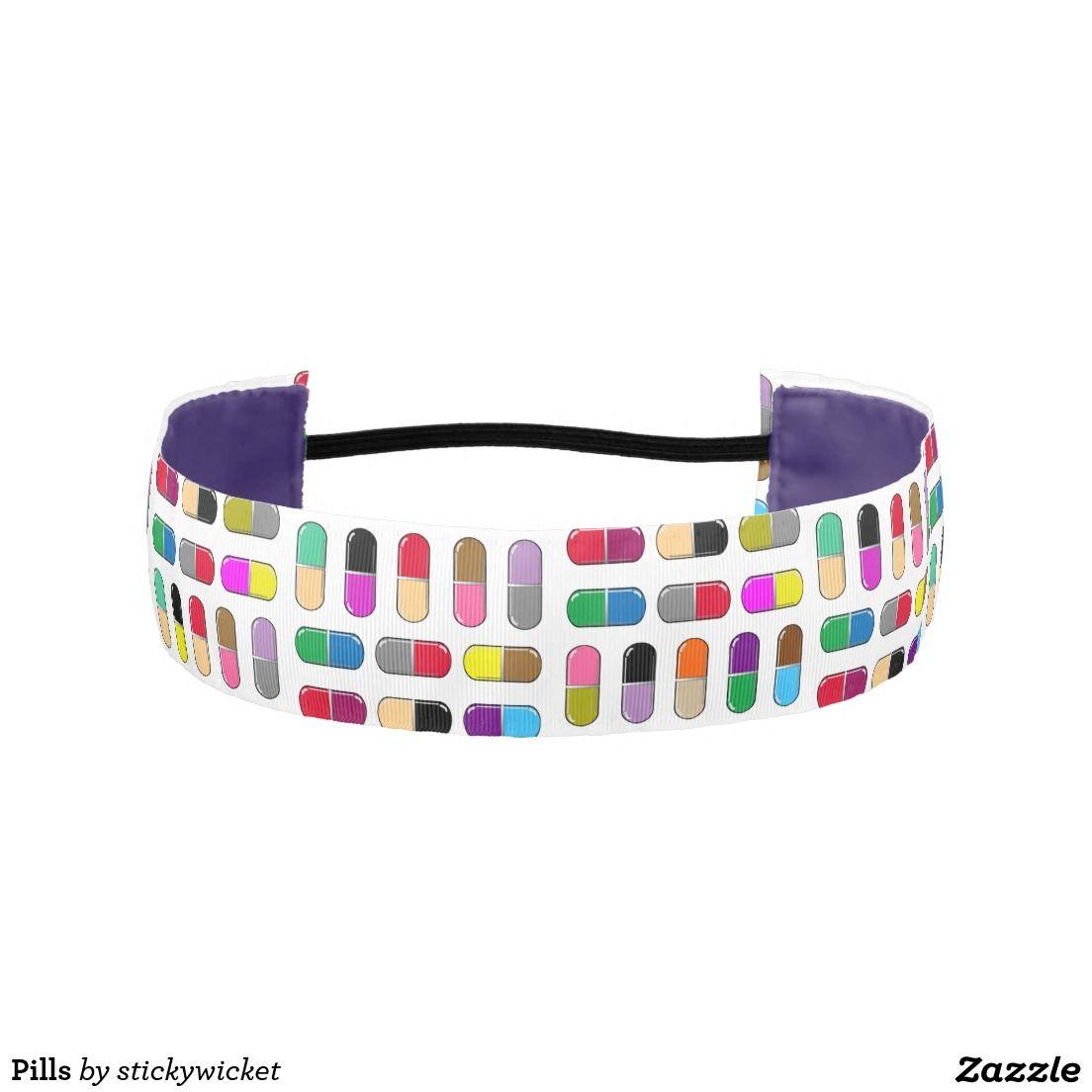 Pills Athletic Headbands