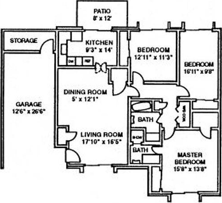 Floor Plans, Bathroom Floor