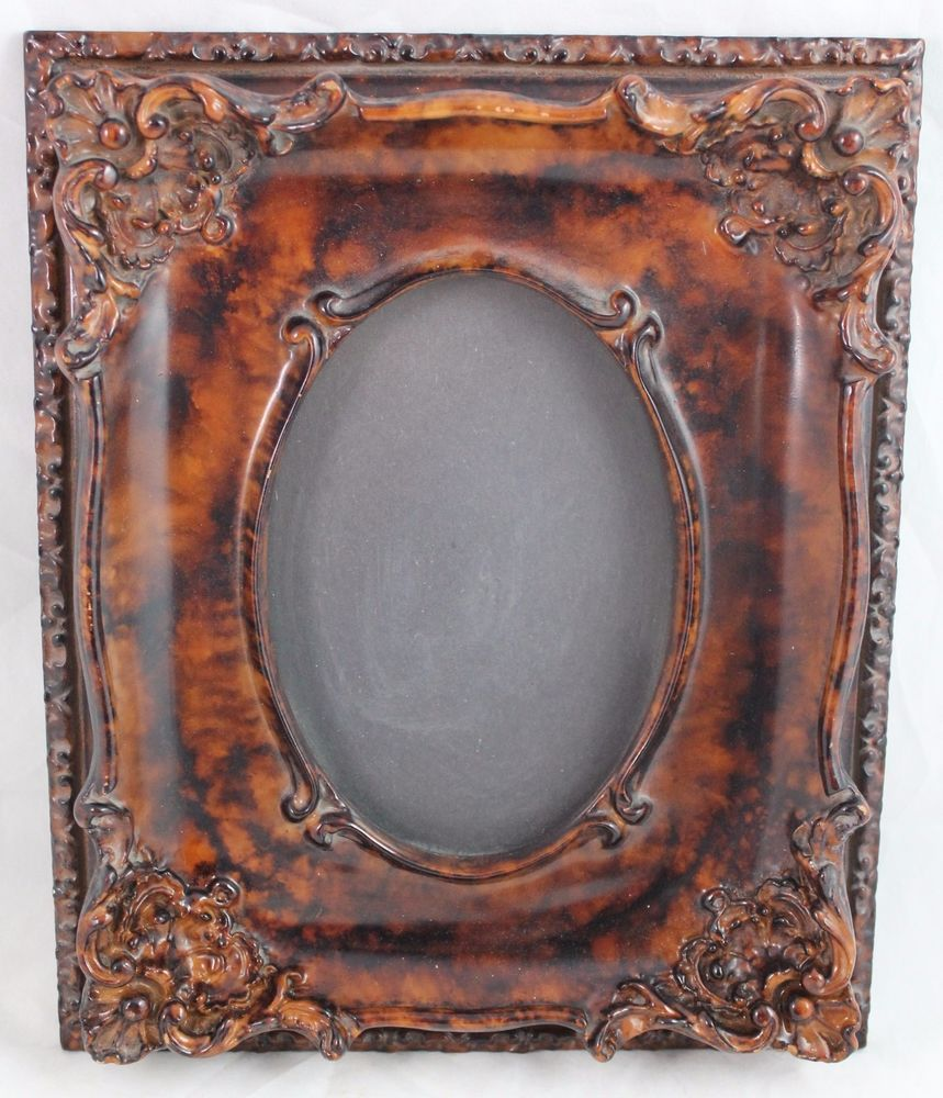 Picture Frame Simulated Wood 11 X9 6 1 2 X4 1 2 Wall Desk Ornate Decorative Unbranded Picture Frames For Sale Picture Frames Wall Desk
