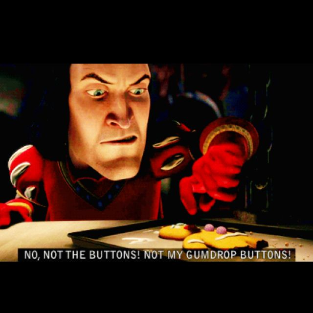 Best Shrek Quotes: Gingerbread Man: Eat Me! Lord Farquaad: ... Tell Me Or I