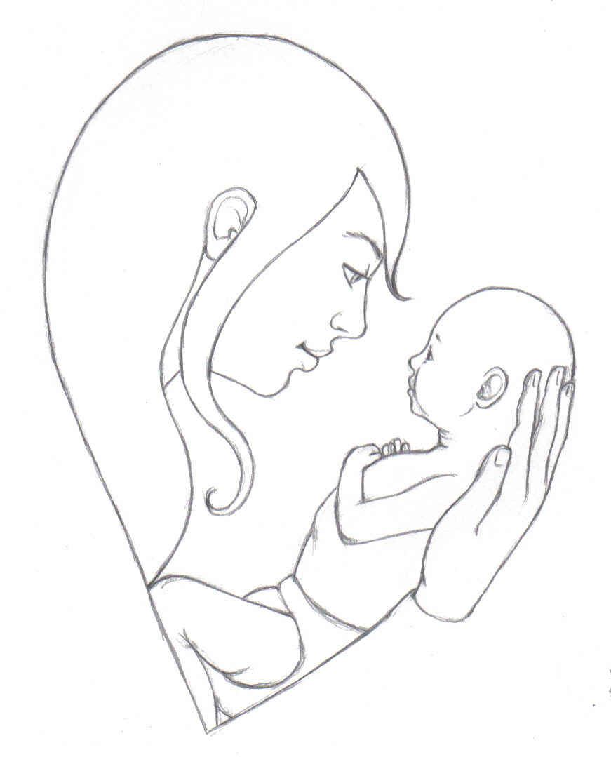 How to draw a mom galleries related mother love quotes