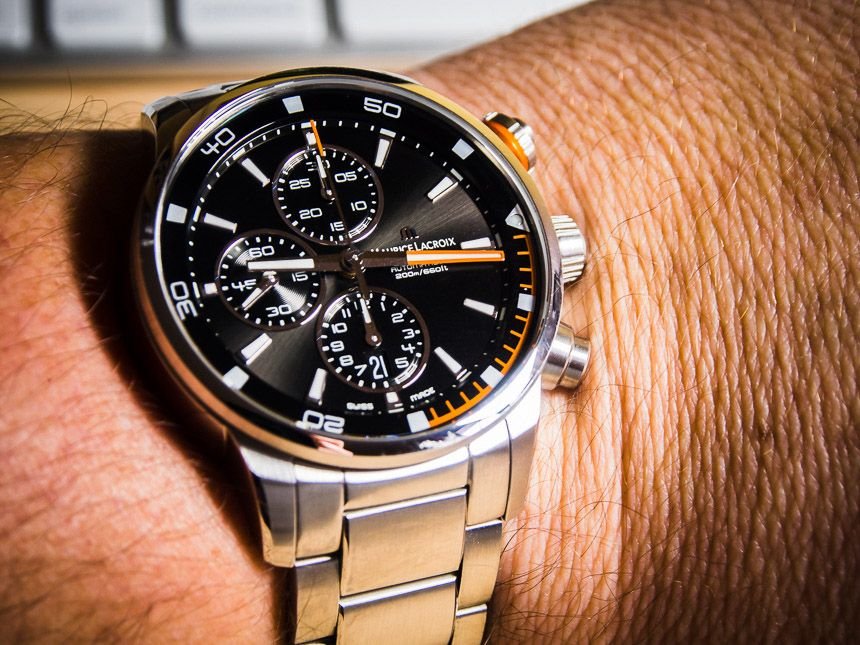 Watch Winner Review: Maurice Lacroix Pontos S   watch giveaways