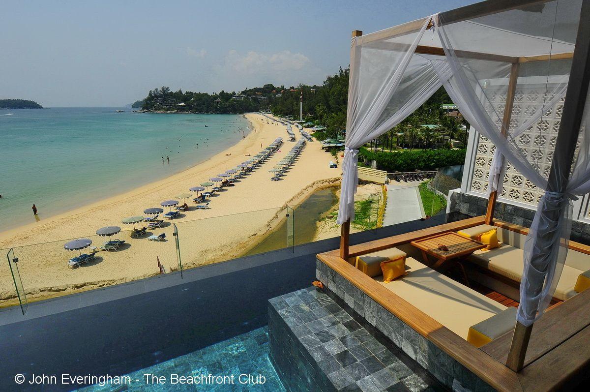 view from pool villa at The Shore at Katathani Kata Noi Beach