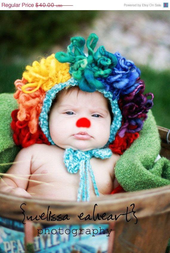 Baby Clown Hat! | crk | Pinterest | Mütze