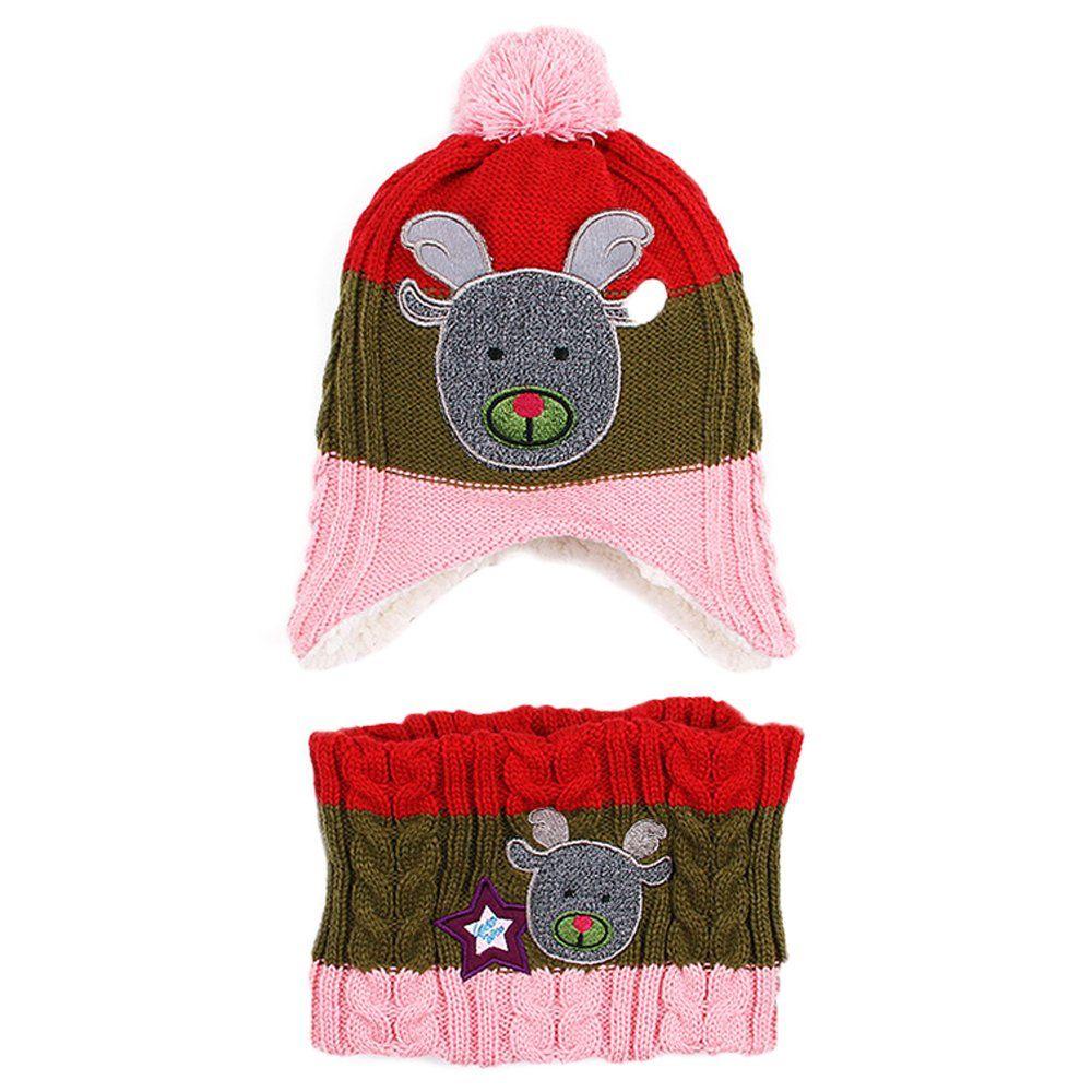 Girls 3 Pc Winter Hat Scarf Mitten Cute Accessory Set~ Christmas Gift Idea NWT