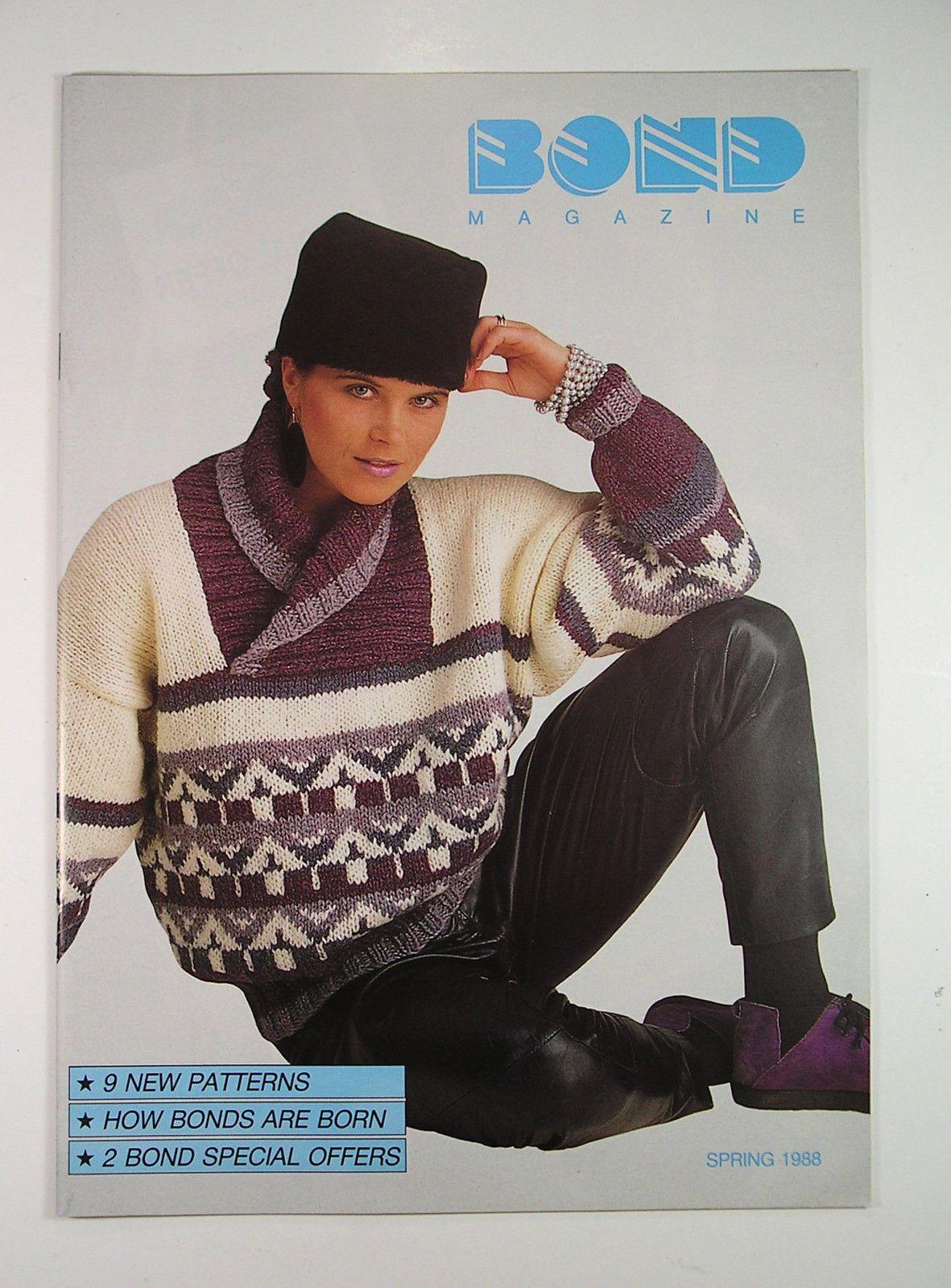 Bond knitting magazine spring 1988 | Knitting magazine, Magazine ...
