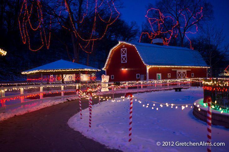 Sibley Park   Kiwanis Holiday Lights In Mankato Starting At The End Of  November .