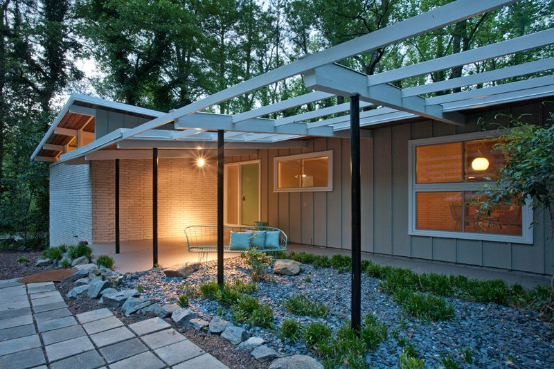 Mid century modern home renovations modern for Mid century modern home plans for sale