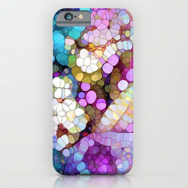 Happy Colors iPhone case by Joke Vermeer