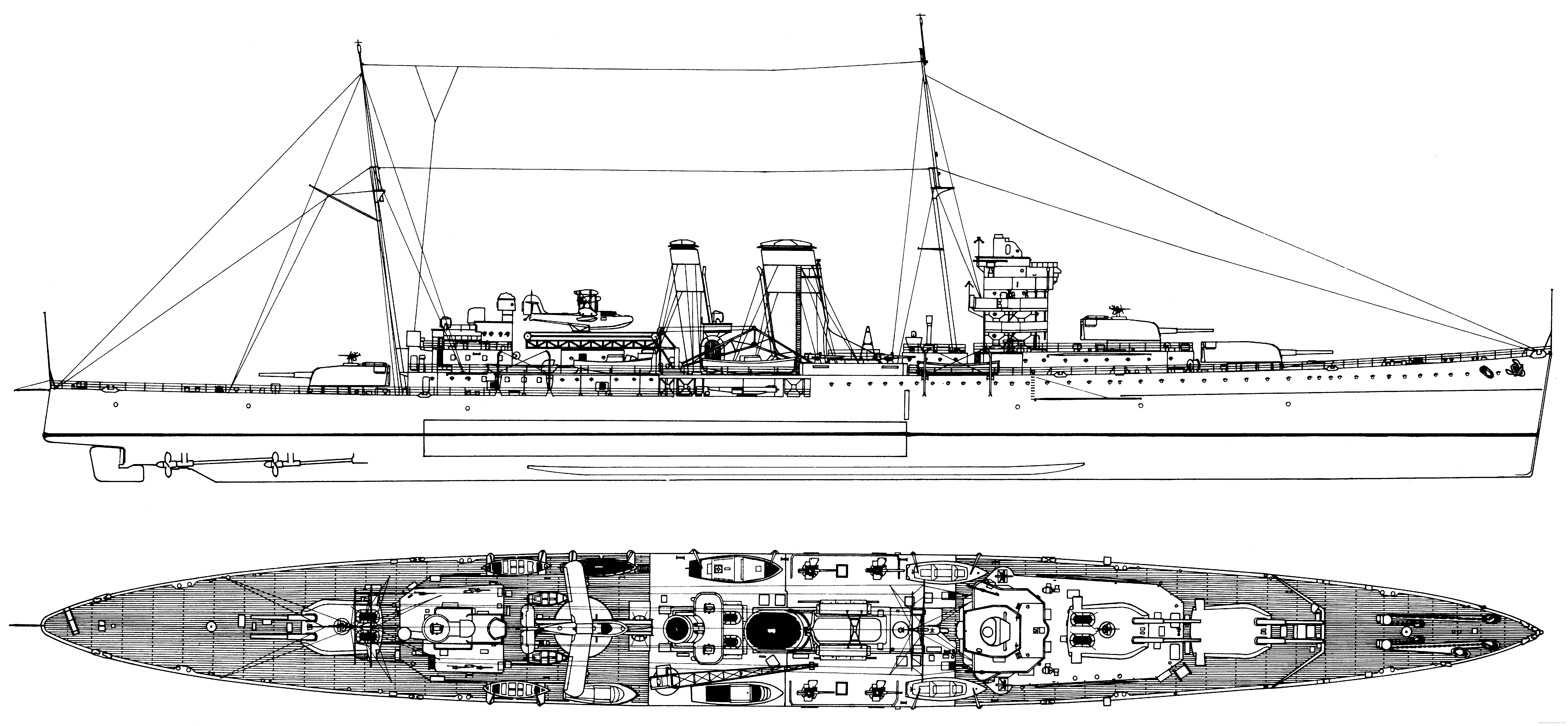 Hms York  Heavy Cruiser   1941