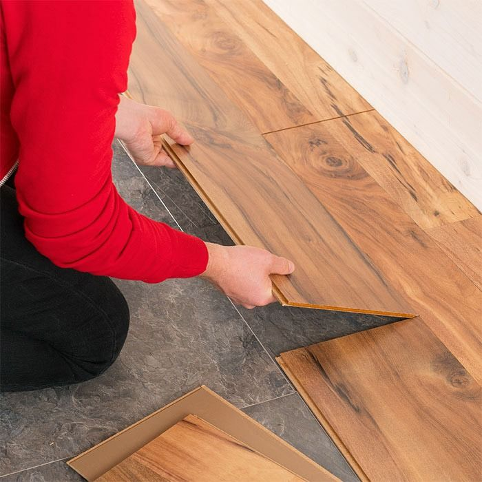 Diy Friendly Wood Look Laminate Flooring Looks Great All Around