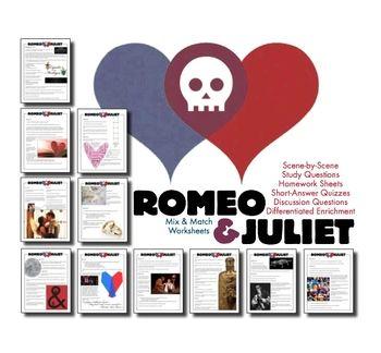 Romeo And Juliet Timeline Worksheet Worksheets For School ...