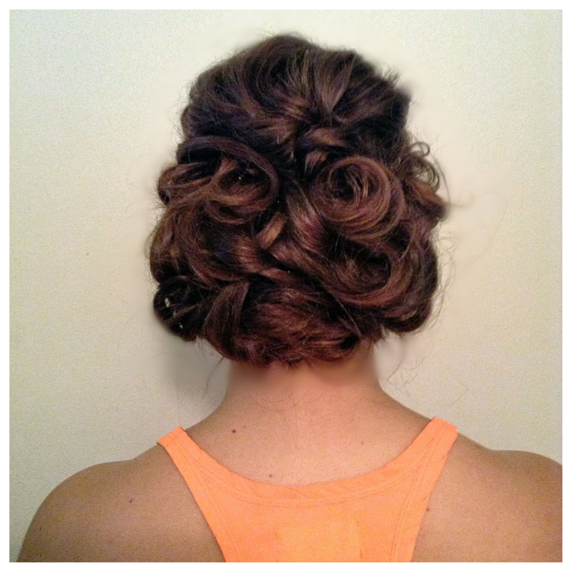Prom hair hairstyle updo special occasion hairstyles pinterest