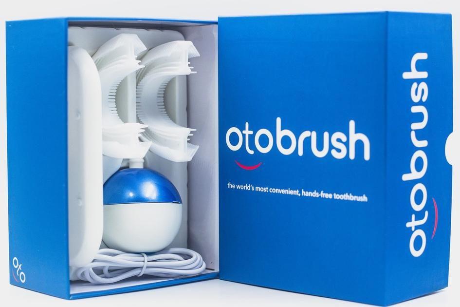 Otobrush™, Hands-Free Automatic Toothbrush | Brush Better | Otobrush | Fully Automatic Toothbrush