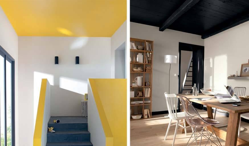 Peinture : 10 idées pour agrandir visuellement une pièce   Idée peinture maison, Peinture ...