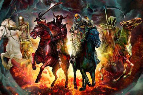 Four Horsemen | Horsemen of the apocalypse, Four horsemen, Horseman