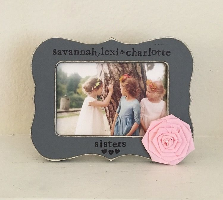 Personalized gift for sister, Sisters, sisters picture frame ...