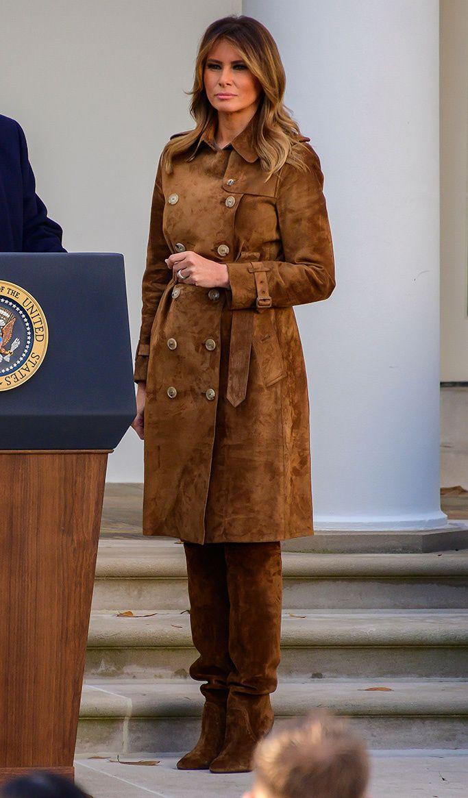 Melania Trump's 2019 Shoe Style First lady melania trump
