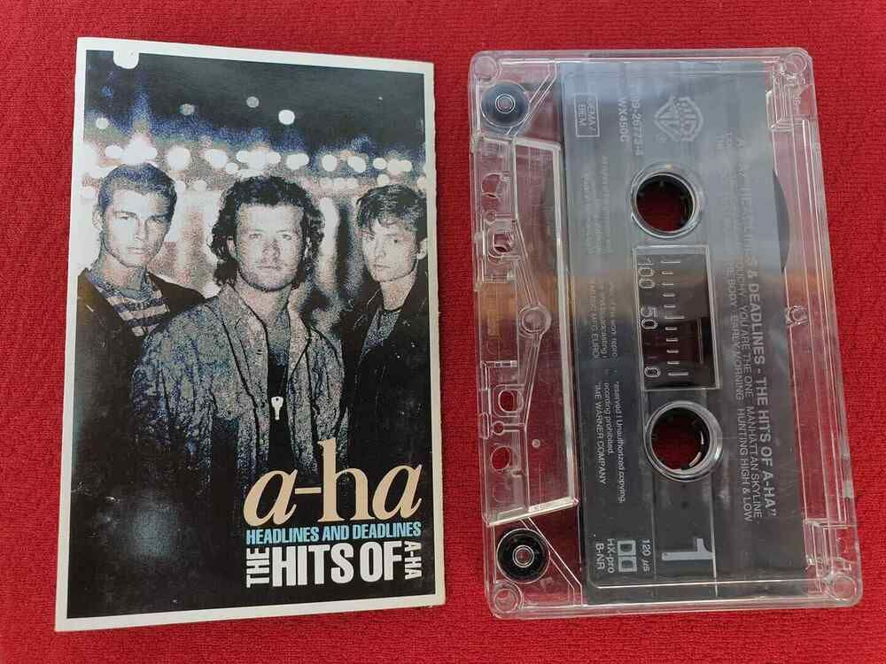 A Ha Headlines And Deadlines The Hits Of A Ha 1991 Cassette Tape
