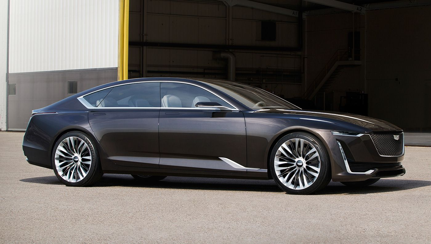 Cadillac Unveiled The Escala Concept A Vision For Its New Flagship Sedan At Private Estate During Monterey Car Week In It Has Shed Hard