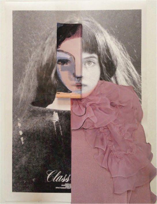 """The Sitting"" by Susanne Deeken   http://ineedaguide.blogspot.com/2015/03/susanne-deeken.html #art #photography #collage"