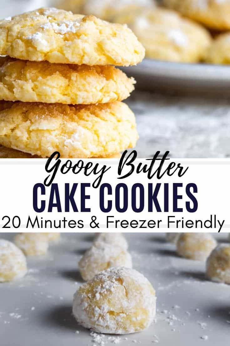 St. Louis Style Gooey Butter Cake Cookies Recipe -   18 desserts Easy recipes ideas