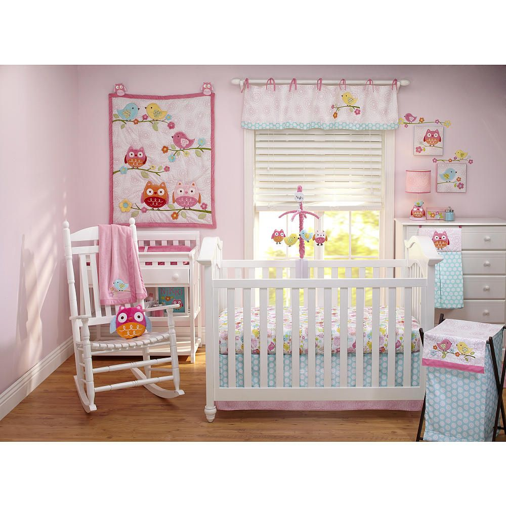 Owl baby bedding - Nursery