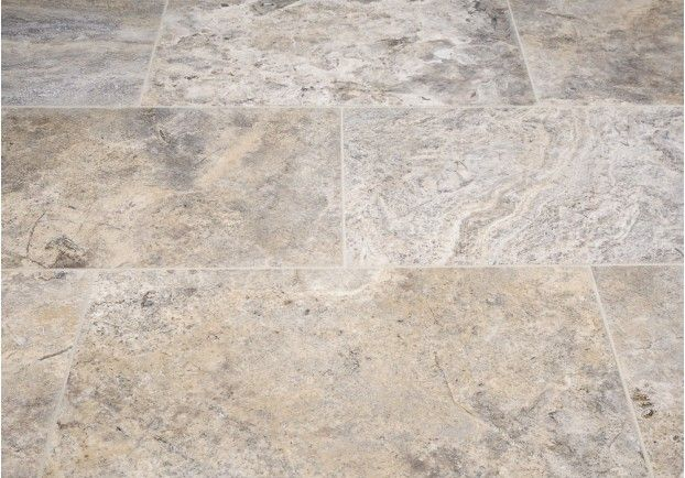 Silver Honed Travertine Tiles