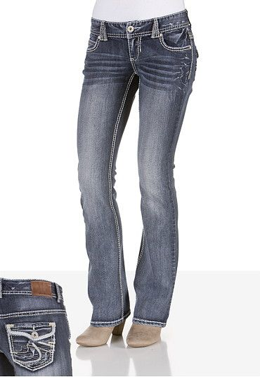 Denim Flex Medium Wash Jeans available at #Maurices. These are my favorite jeans! Cute and super comfortable.