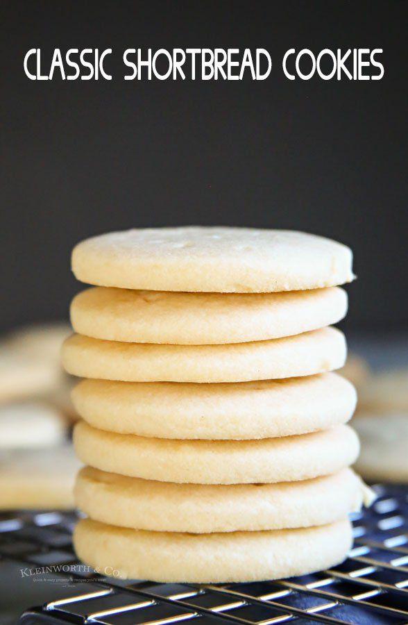 Classic Shortbread Cookies - Kleinworth & Co