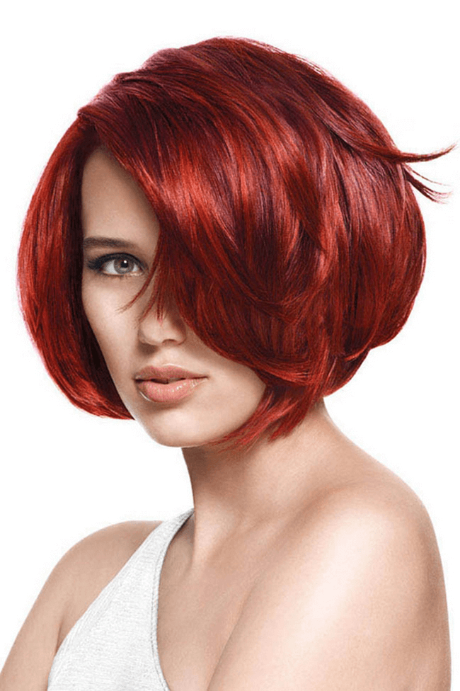 Bob Frisuren Rote Haare Bob Frisuren Pinterest Frisur Rote