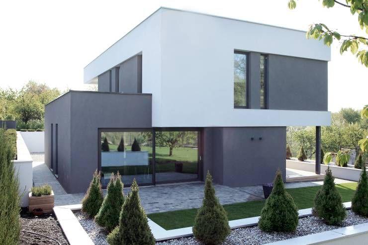 Moderne Hausfassaden haus mit optischer täuschung fassaden moderne häuser und architektur