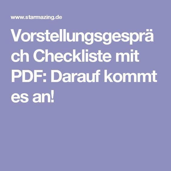 experten checkliste f r bewerbungs profis vorstellungsgespr ch checkliste mit pdf job. Black Bedroom Furniture Sets. Home Design Ideas