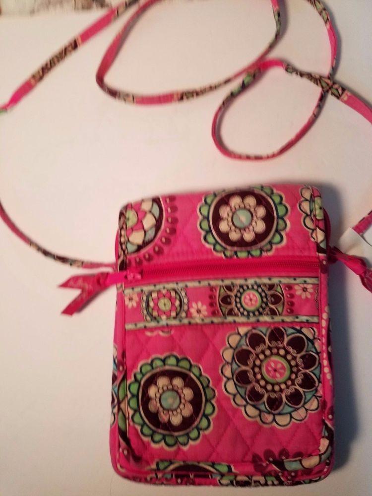 Vera Bradley Cross Body Hipster Cupcake Pink Shoulder Bag  VeraBradley   CrossbodyShoulderBag 4dd05cf3f217c