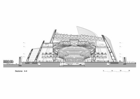 Cross Section Concert Halls Pinterest Concert Hall Hall And