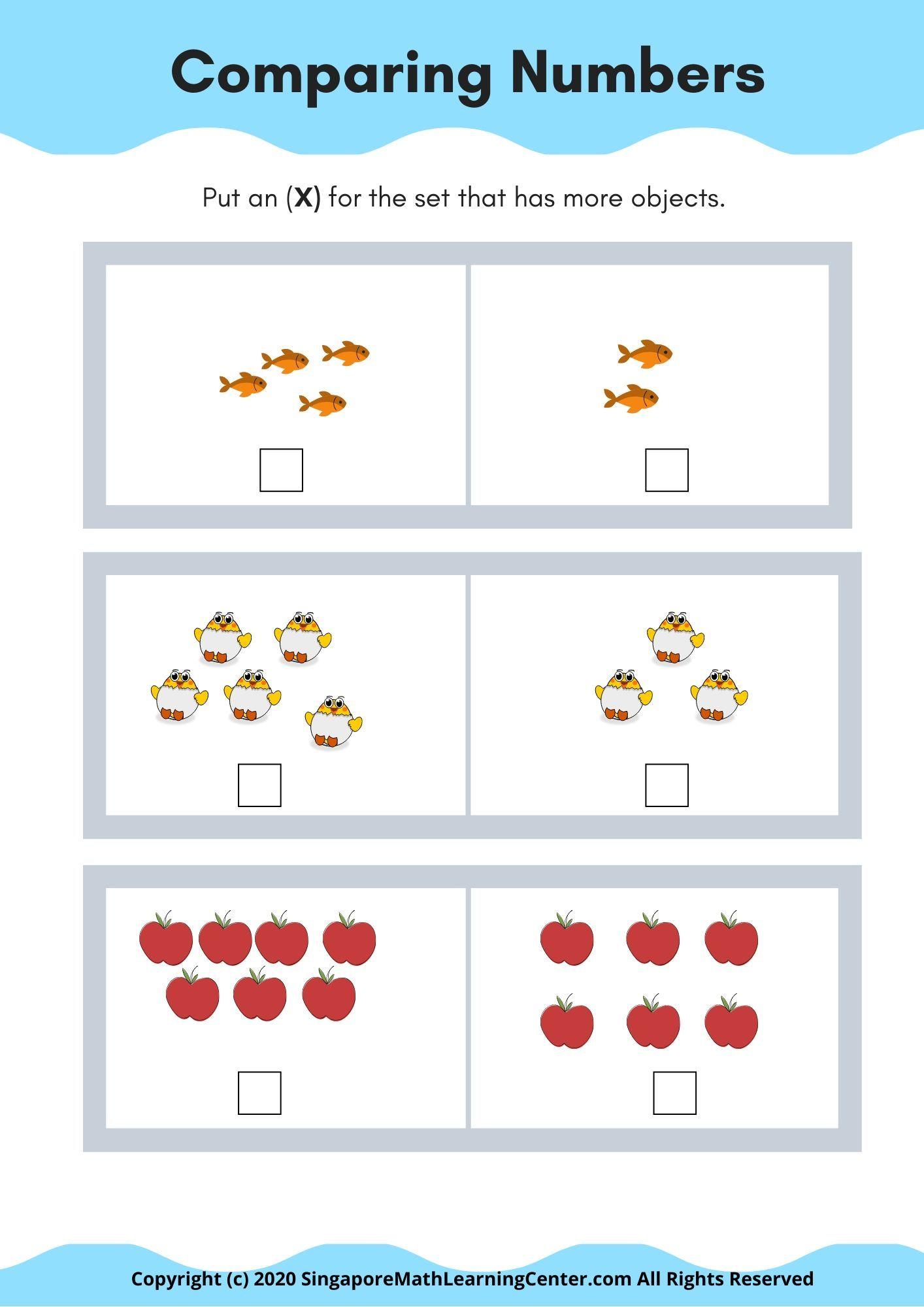 Singapore Math Kindergarten An Overview Of Math In Focus