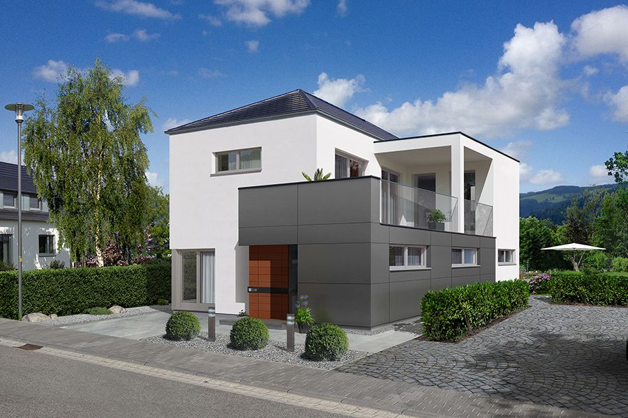 STREIF Haus Musterhaus Nürnberg (Visualisierung) Streif