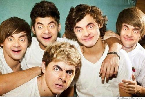 Mr Bean One Direction Com Wp Content Uploads 2012 04 Mr Bean One Direction Jpg We Heart It Mr Bean Funny Mr Bean One Direction Pictures