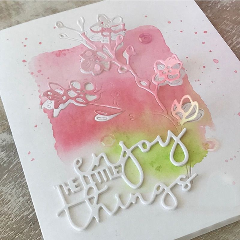 Summer Cooking Drinks Metal Cutting Dies Scrapbooking Embossing Stencil DIY Card