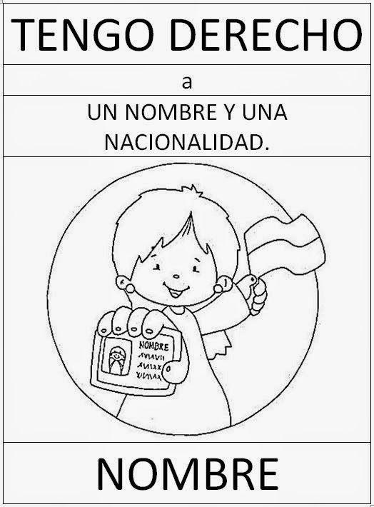 EL BARRIO DE MI COLE: FICHAS SOBRE LOS DERECHOS DEL NIÑO | cole ...