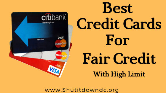 Best Credit Cards For Fair Credit In 2021 January List In 2021 Virtual Credit Card Credit Card Discover Credit Card