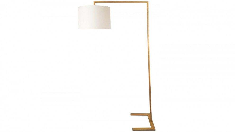 Davon Floor Lamp - White - Table Lamps - Decorator Items - Furniture ...