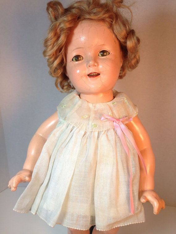 Vintage Rare Shirley Temple Doll Ideal Company By