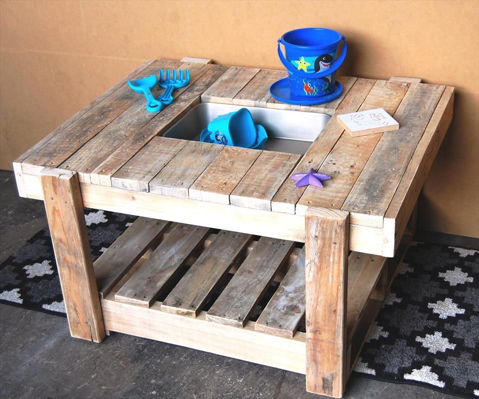 #Pallet Mud #Kitchen For Kids   15 Inspired Pallet Ideas For Your Home | Good Ideas